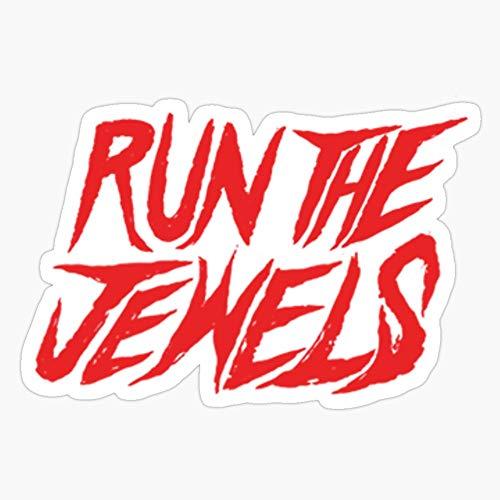 WillettaStore Run The Jewels Logo Stickers (3 Pcs/Pack)