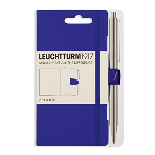 LEUCHTTURM1917 346707 Pen Loop (Stiftschlaufe), selbstklebend, Violett