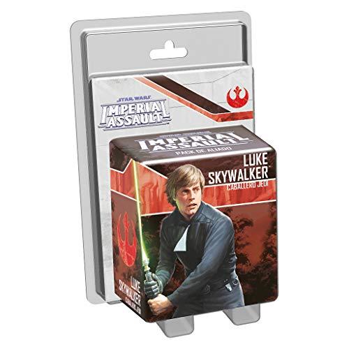 Fantasy Flight Games- Luke Skywalker, Caballero Jedi, colección Imperial Assault, Color (FFSWI33)