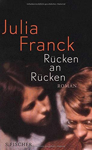 Buchseite und Rezensionen zu 'Rücken an Rücken: Roman' von Julia Franck