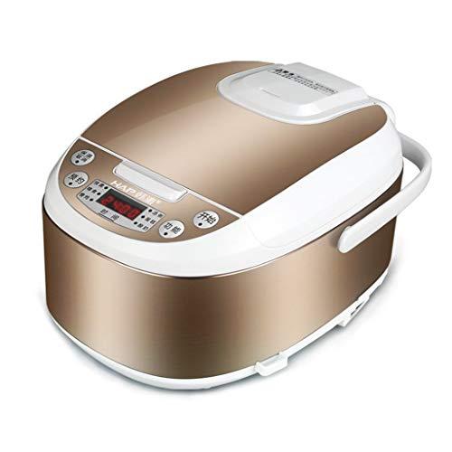 Cuiseur de riz multifonctions intelligent 8 en 1 à fonction unique, 3 litres, pommeau de porridge à cuisson lente, yogourt à faire (Couleur : Or)