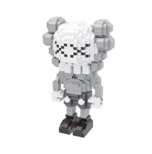 BAIDEFENG Nano Mini Blocks Mini KAWS Buiding Kit Model Micro Blocks 3D Puzzle Nano Bricks Toy Gift Collection for Kids Adult,C