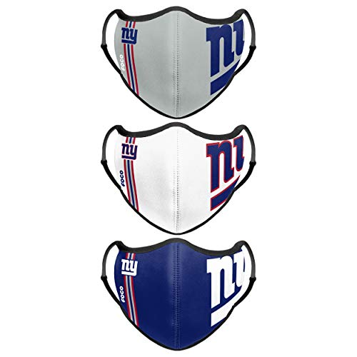 New York Giants NFL Sport 3 Pack Face Cover