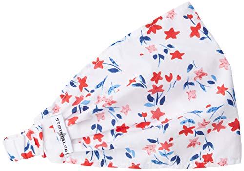 Sterntaler Haarband für Mädchen mit Blumen-Motiven, Weiß (Weiss 500), 55/57