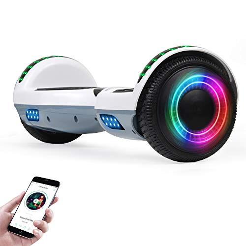 EPCTEK Hoverboard for Kids with Bluetooth Speaker, 6.5'...