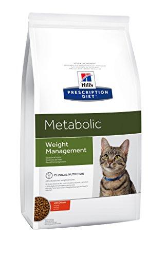 Hills Prescription Diet - Gestione del Peso, Cibo per Gatti, crocchette di poll, 8kg