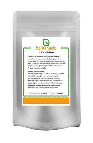 500 g L-Citrullin Base - rein | Aminosäure | ohne Malat