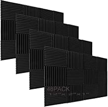48 Pack Acoustic Foam Panel Wedge Studio Soundproofing Wall Tiles 12