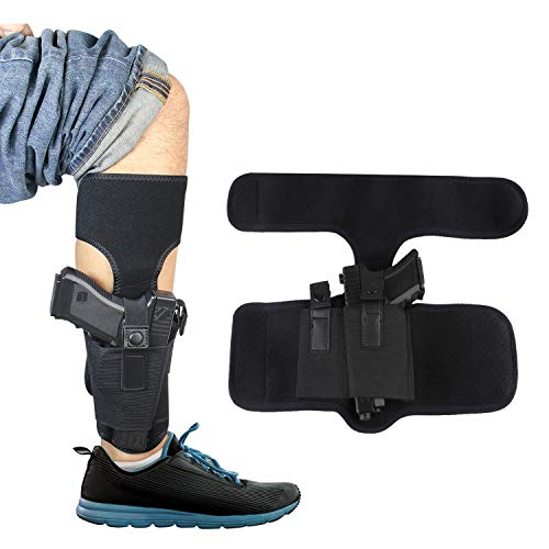 Kosibate Ankle Holster for Concealed Carry | Universal Leg...