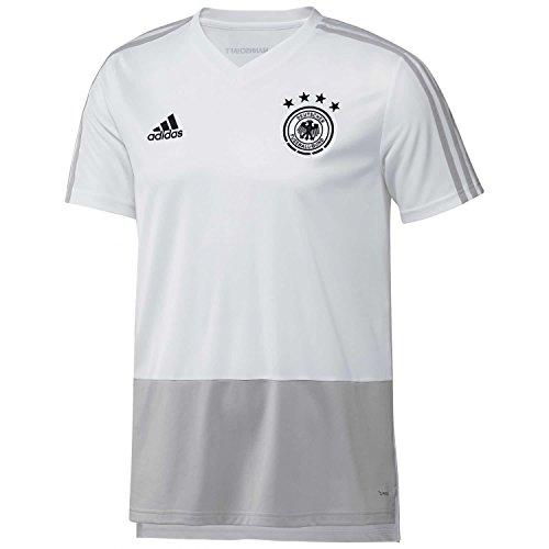 adidas Herren Trikot DFB, White/Grey Two/Black, L, CE6612