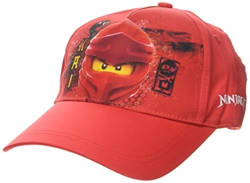 Lego Wear Jungen cm Lego Ninjago Kappe, Rot (Red 344), (Herstellergröße:54)
