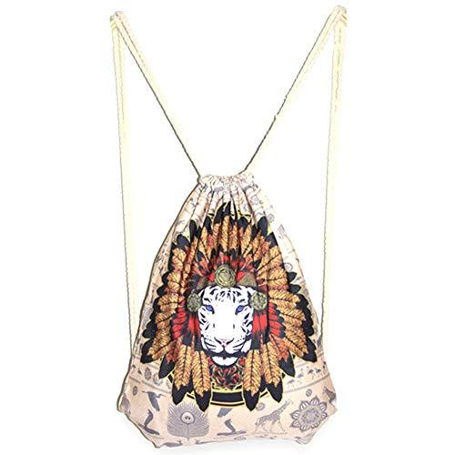Emorias 1 Piece Ladies Shoulder Drawstring Fashion Casual All-match Backpacks Backpack Rucksack