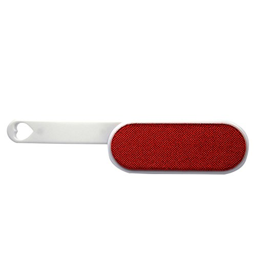 Gosear - Doble Cara Cepillo de Ropa Antiestática Reutilizable/Cepillo de Limpieza para Polvo de Pelo/Removedor de Pelo de Mascotas,Rojo