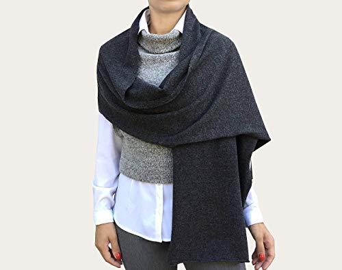 Schal für Damen in 100% Kaschmir, Schal Kaschmir, Stole Kaschmir, Schultertuch Kaschmir, Stole Damen Eleganter