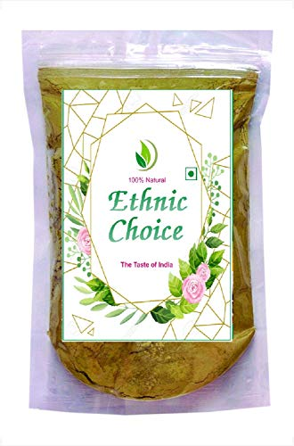Ethnic Choice 100% Natural Natural Henna Powder for Hair | 100% Pure & Herbal Mehendi/Heena Leaves Powder, Natural Hair Colorant, Multicolor, 100 g