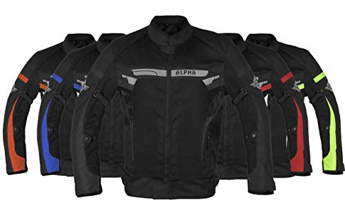 Alpha Cycle Gear ACG-58 Protection Motorcycle Jacket