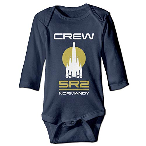 LADHRNZCMX Mass Effect N7 Unisex Baby Soft Cotton Bodysuit Long Sleeve Newborn Baby Onesies 0-24 M 2T