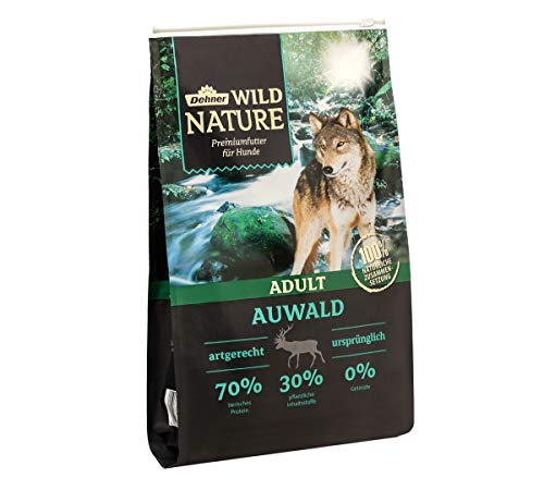Dehner Wild Nature Hundetrockenfutter Adult, Auwald, 4 kg