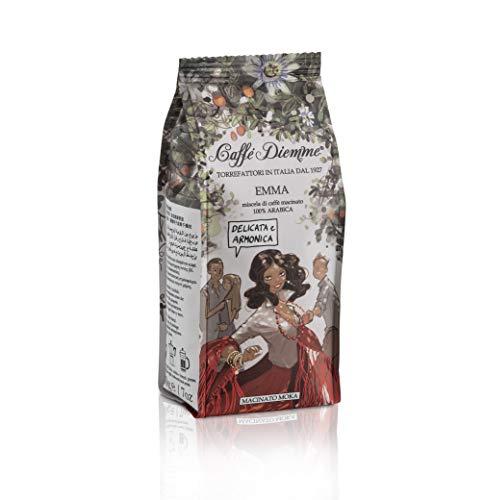 EMMA - Caffè Diemme linea viaggi - caffè macinato per moka 100% arabica in confezione da 200g