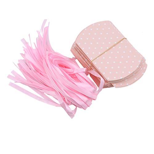 unknow Sanmeiyang 50 cajas de regalo pequeñas para decoración de cumpleaños, aniversario, fiesta de Navidad, color rosa