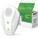Neatmaster Ultrasonic Pest Repeller Electronic Plug in Indoor Pest Repellent, Pest Control for Home, Office, Warehouse, Hotel (White)
