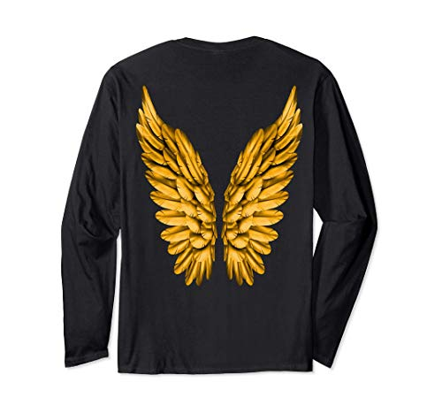Alas de ángel libertad ángel de la guarda Manga Larga