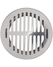 Rostfritt stål balkong takavlopp extern förskjutning blockerande golvavlopp för utsidan (160 platt mynning)