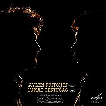Pritchin & Geniušas: Stravinsky, Desyatnikov, Tchaikovsky