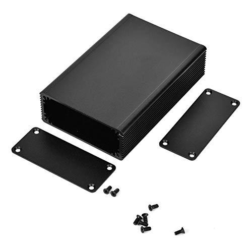 Elektronisch project aluminium box koelbox gedeeld PCB-instrument DIY elektrische behuizing 1.1x2.6x3.9in, zandstrahloxidatie zwart
