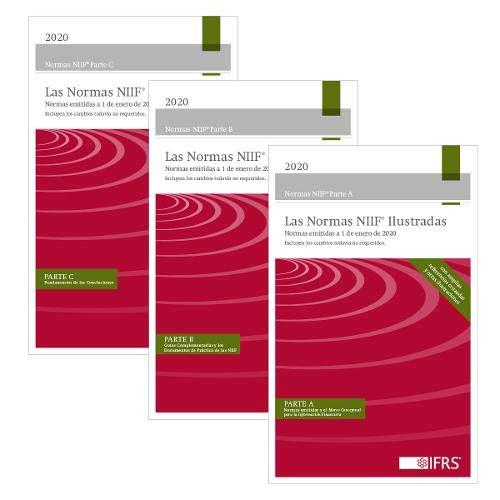 Las Normas NIIF Ilustradas. Normas emitidas a 1 de enero de 2020 ~ TOP Books
