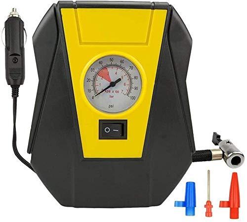 HFFFHA Auto portátil de la Bomba eléctrica del compresor de Aire del Coche del inflador de neumáticos