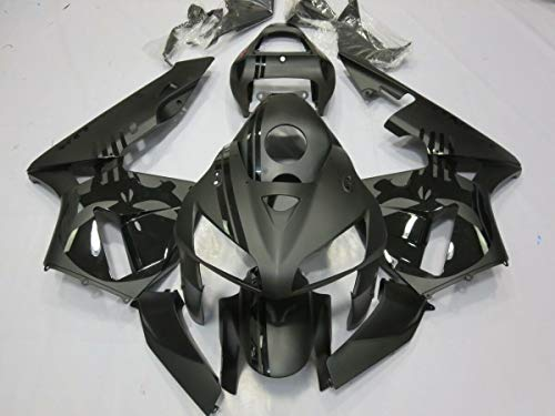 FocusAtOne Candy Green w//Black Complete Fairing Bodywork Aftermarket Painted ABS Plastic Injection Molding Kit for 2004-2005 Suzuki GSXR GSX-R 600 750