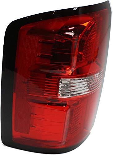 Tail Light Assembly Compatible with 2014-2015 GMC Sierra 1500/2015 GMC Sierra 2500 HD 3500 HD (2500 HD/3500 HD Single Rear Wheels) - CAPA Driver Side