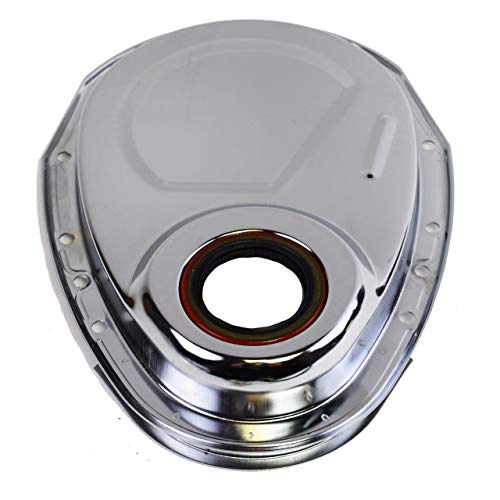 A-Team Performance Timing Cover Kit Compatible With V8 Small Block SBC Chevy267 283 302 305 307 327 350 383 400