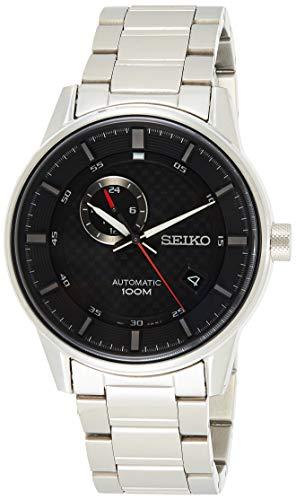 Seiko Mechanik Herren-Uhr Edelstahl mit Metallband SSA381K1