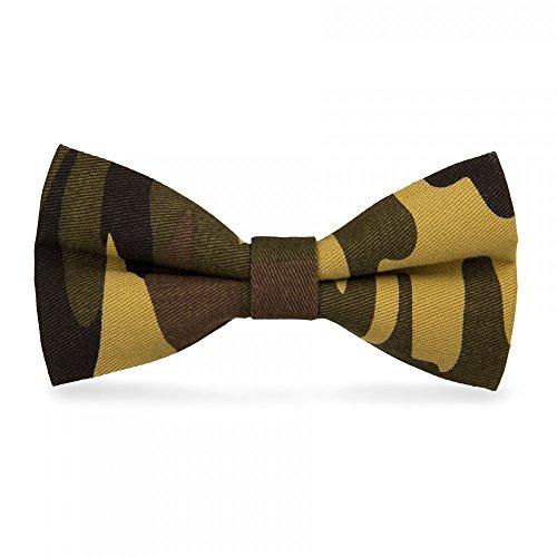 CravateSlim N?ud Papillon Militaire Camouflage n°2