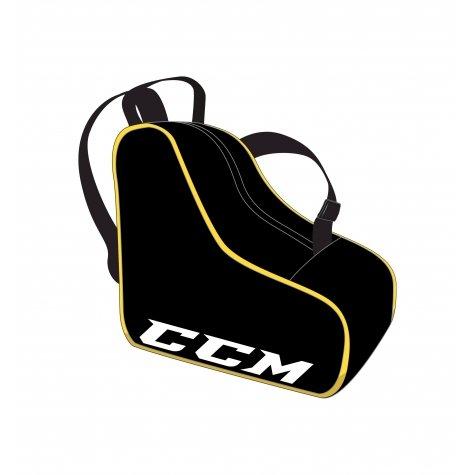 CCM Skate Bag /Schlittschuhtasche 15,5', Farbe:schwarz/rot