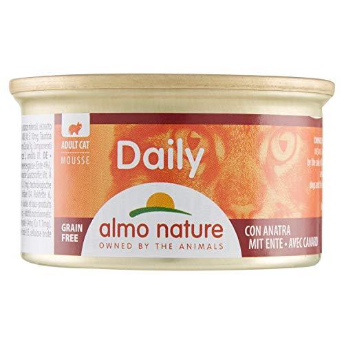Almo - Daily Menu Da 85 Gr. Mousse Con Anatra - Gatto 156
