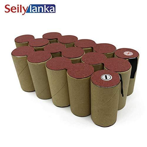 Seilylanka para WURTH NiMH 19.2 v 3000 mAh Taladro Destornillador Batería DIY BGS-1620 0700970520 Celdas P88