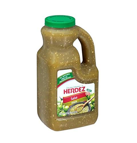 Herdez Salsa Verde - 68 Oz -4.25lb Jug (Pack of 2)