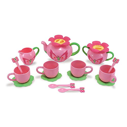 Product Image of the Melissa & Doug Bella Butterfly Tea Set