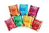 Confezione degustazione da 7 pezzi | Snack 100% naturali, senza glutine e vegetariani | Il regalo perfetto per gli amanti dei popcorn