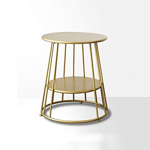 XLEVE Semplice Moderna Ferro Battuto Oro Laterale Tavolino Nordic Tavolino Tavolino Creativo Round Corner Diversi Comodino