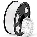 SUNLU Filament 1.75mm PLA 3D Drucker Filament PLA 1kg Spool (2.2lbs), Toleranz beim Durchmesser liegt bei +/- 0,02mm PLA Weiß -
