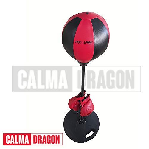 Calma Dragon Punching Ball, Saco de Boxeo de pie, Bola de