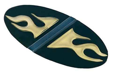 Crazy Creek Snowboard Standpad / Stomp Pad TP-413 (Farbe: gold/schwarz)