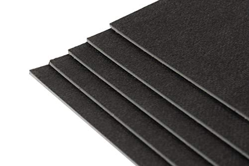 10 Matten Kunststoff-Schwerfolie je 500 x 200 mm - FG: ca. 5kg/m² / XXL