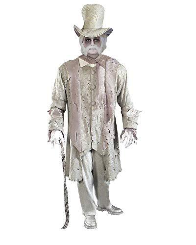 Adult Ghostly Gentleman Halloween Costume Fancy Dress