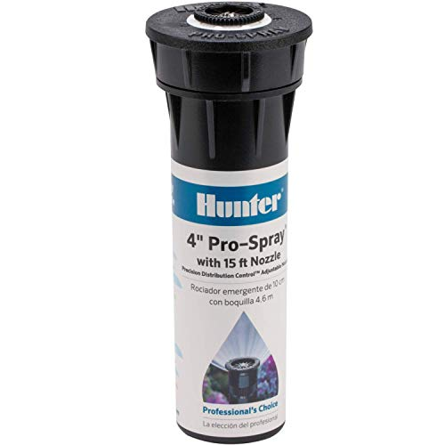 """Hunter Industries RTL2001PROS0415A Hunter Pro 4"""" Pop-up Sprinkler with 15' Adjustable Spray and Nozzle"""
