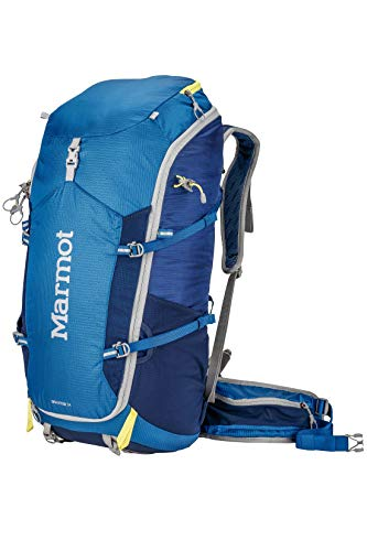 Marmot Graviton 34 Lightweight Hiking Backpack, Blue Night/Dark Ink, One-Size